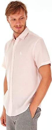 SideWalk Camisa Linho - Rosa Claro - Tamanho G