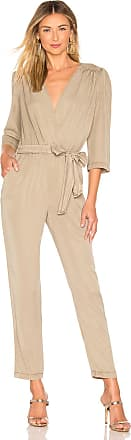 Young Fabulous & Broke Bellows Jumpsuit in Beige