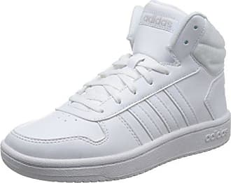 more photos 008f5 8410e adidas Damen VS Hoops MID 2.0 Fitnessschuhe Weiß FtwblaGriuno 000, 42 2