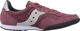 Saucony Originals Womens Bullet-W Heritage Running Shoe, Burgundy, 7.5
