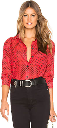 Equipment Daddy Button Down in Red
