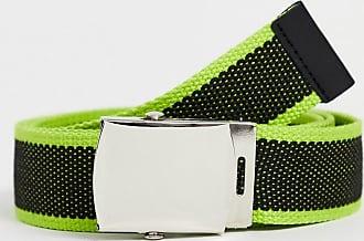 7X SVNX belt with neon detail-Black