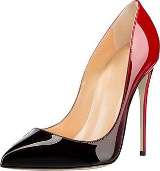 EDEFS Womens Pointed Toe 120mm High Heel Pumps Chic Evening Shoes Gradual EU39
