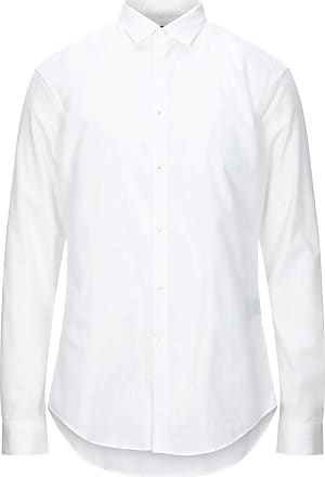 John Varvatos Star USA homme à manches courtes Clark Snap Front solide chemise Icicle