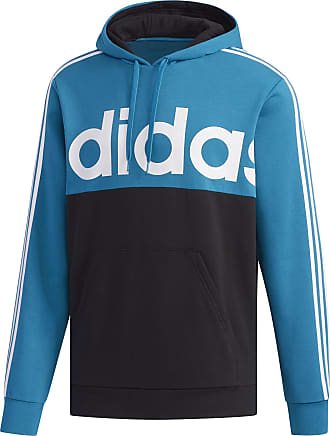 adidas Essentials Colorblock Pullover Sweatshirt - Mens