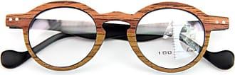 Inlefen Unisex Reading Glasses Vintage Reading Glasses Small Round Frame Reading Glasses