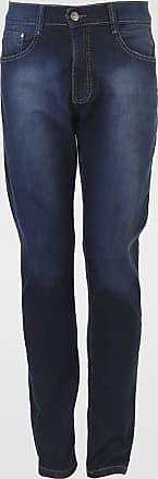Fatal Surf Calça Jeans Fatal Skinny Estonada Azul-Marinho