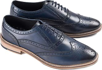Ikon Buster Oxford Shoe | Navy (10)