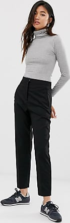 Weekday tailored trousers in black