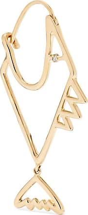 Yvonne Léon 9-karat Gold Diamond Earring