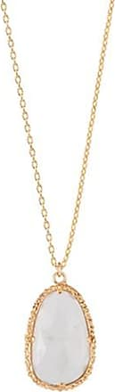Emma Israelsson Drop White Necklace Bronze(76/80cm)