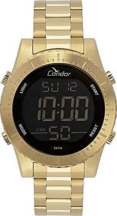 Condor Relógio Condor Masculino Casual Digital Dourado COBJ3463AA/4D