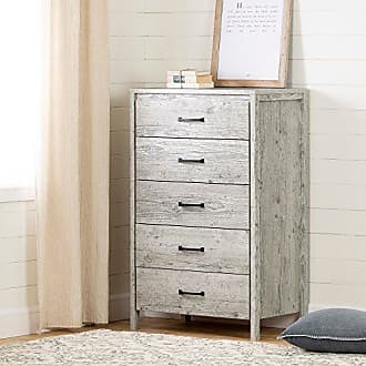 South Shore Furniture 11897 Gravity 5-Drawer Chest, 0, Seaside Pine
