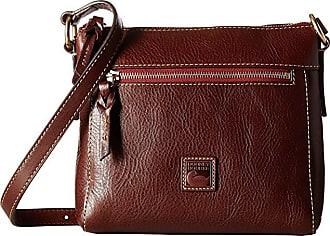 Dooney & Bourke Florentine Classic Allison Crossbody (Chestnut/Self Trim) Cross Body Handbags