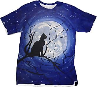 NA Black Cat and Moon 3D Shirt