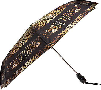 Moschino Leopard Printed Umbrella Womens Brown