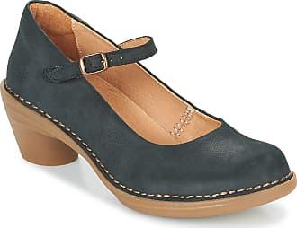 El Naturalista N5370 Aqua Women Strappy Court Shoes,Buckle Pumps,Mary-Jane,Oktoberfest,Dirndl,Wiesn,Octoberfest,Black,37 EU / 4 UK