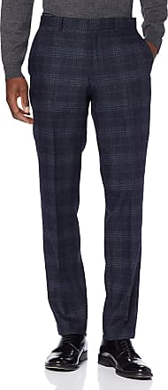 Selected Homme Mens Slhslim-myloiver Chk TRS B Noos Suit Trousers, Blue (Navy Blue Checks: Blue), 18 (Size: 44)