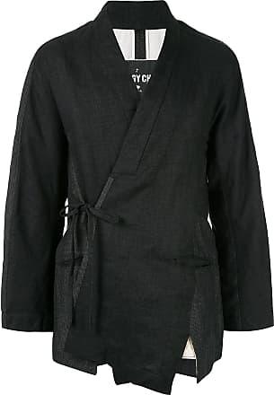 Ziggy Chen kimono-styled jacket - Black
