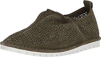 Kelsi Dagger Womens Royce Sneaker, Olive, 11 M US
