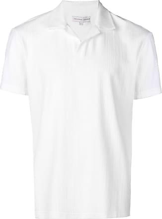 Orlebar Brown Camisa polo com textura - Branco