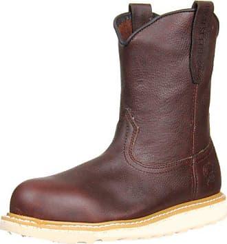 Irish Setter Mens 83908 Wellington Aluminum Toe Work Boot, Brown, 11 D US