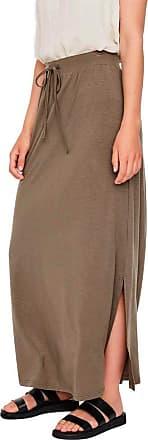 Vero Moda Womens Vmava Nw Ancle Skirt Ga Noos, Bungee Cord, S