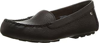 UGG Womens Milana Boat Shoe, Black, 5 B US