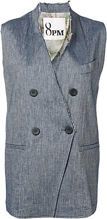 8pm Avio sleeveless blazer - Blue