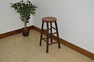 A & L Furniture A & L Furniture 2582 Hickory bar Stool, Walnut Finish