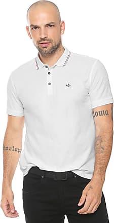 Dudalina Camisa Polo Dudalina Reta Listras Branca ffcfd1dfa6cb8