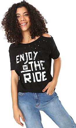 ebe5d4aa4e Hang Loose Camiseta Hang Loose Grunge Enjoy Preta