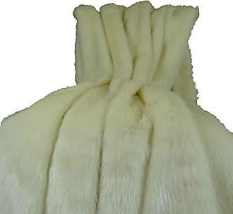 Plutus Brands Arctic Fox Throw Pillow 80 x 90 White/Ivory