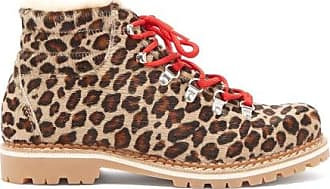 Montelliana Marlena Leopard-print Calf-hair Après-ski Boots - Womens - Leopard