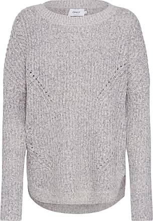 ONLY Pullover in dunkelgrau