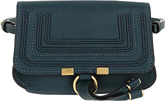 Chloé Belt Bags - Marcie Belt Bag Calfskin Navy Ink - teal-cyan - Belt Bags for ladies