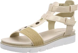 Bugatti Womens 431673836469 Ankle Strap Sandals, Beige (Beige/Beige 5252), 5 UK