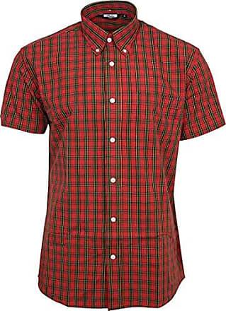 san francisco ad8bc eae1a Kurzarm Hemden in Rot: 131 Produkte bis zu −76% | Stylight