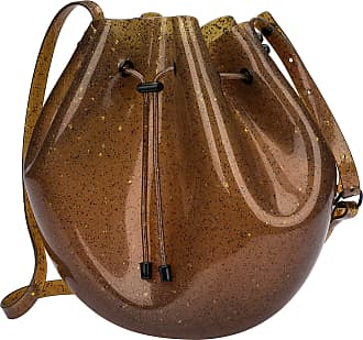 Melissa Sac Bag (Conhaque/Glitter)