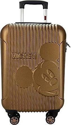LUXCEL Mala de Viagem P de Bordo 19 360º Mickey Mouse Luxcel MF10169MY-19 Bronze - Bronze