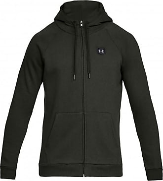 Under Armour Rival Fleece Fullzip Hoody Cotton 80 Sweat-   Trainingsjacken  für Herren   grün 8413cf0f7c