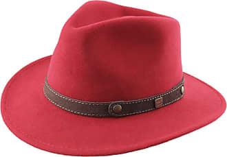 ba8a27ec95744 Classic Italy Fedora Hat Wool Felt Packable Water Repellent Men Classic  Traveller II - Size 61