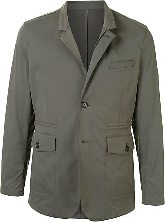 Kent & Curwen single-breasted fitted blazer - Green