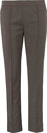 Peter Hahn Ankle-length pull-on trousers Peter Hahn brown