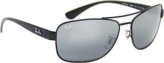 Ray-Ban Óculos de sol Ray Ban 3518 (Preto fosco, Prata espelhada degradê)