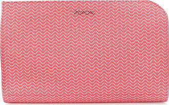 Zanellato wave print clutch - Red