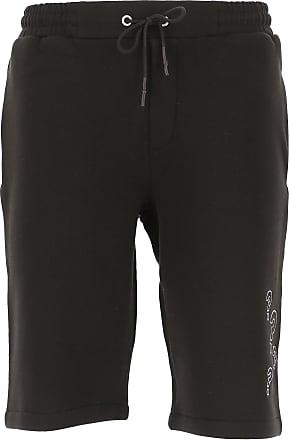 Alexander McQueen Shorts for Men On Sale, Black, Cotton, 2019, L M S XL