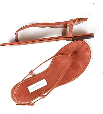 L'autre Chose Low Sandals Flip Flops Made in Italy Pink Size: 4 UK