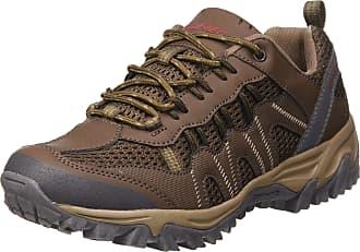 Hi-Tec Mens Jaguar Low Rise Hiking Boots, Brown (Brown/Red 41), 9 UK 43 EU