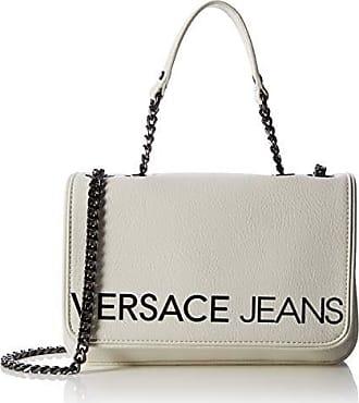 45d0b8cefa Versace Jeans Couture Bag Sac à bandoulière Femme, Blanc (Bianco Ottico)  4x15,
